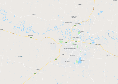 Map of Riverina - Wagga Wagga PPTSG support group