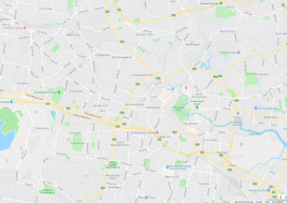 Map of Westmead Hospital area PPTSG support group